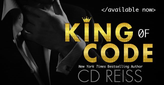 www.dgbookblog.com:KING OF CODE.cdreiss. AN RELEASE BLITZ