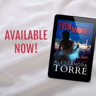 www.dgbookblog.com:Even Money Available Now satin