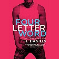 www.dgbookblog.com:Four Letter Word J. Daniels Cover