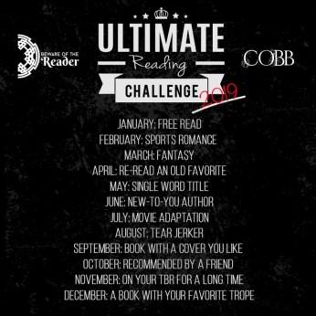 www.dgbookblog.com:ultimate-reading-challenge-2019