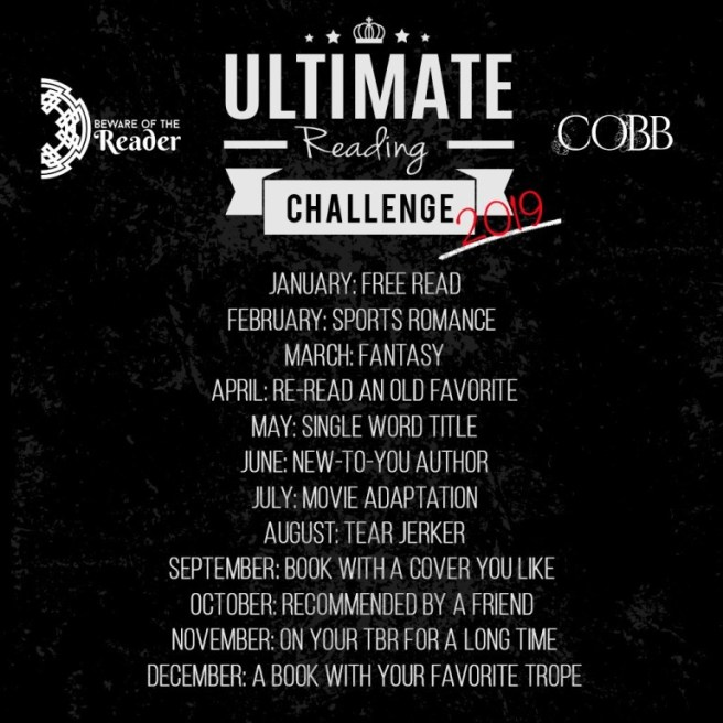 www.dgbookblog.com:ultimate-reading-challenge-2019