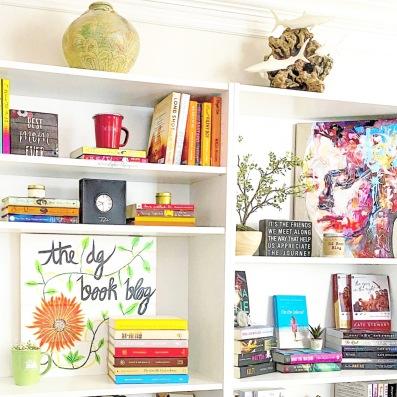www.DGBookBlog.com:shelfie.insta